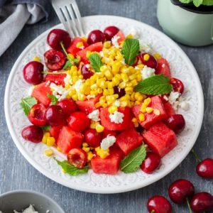 Best Watermelon Feta Salad