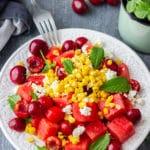 Easy Watermelon Feta Salad Recipe