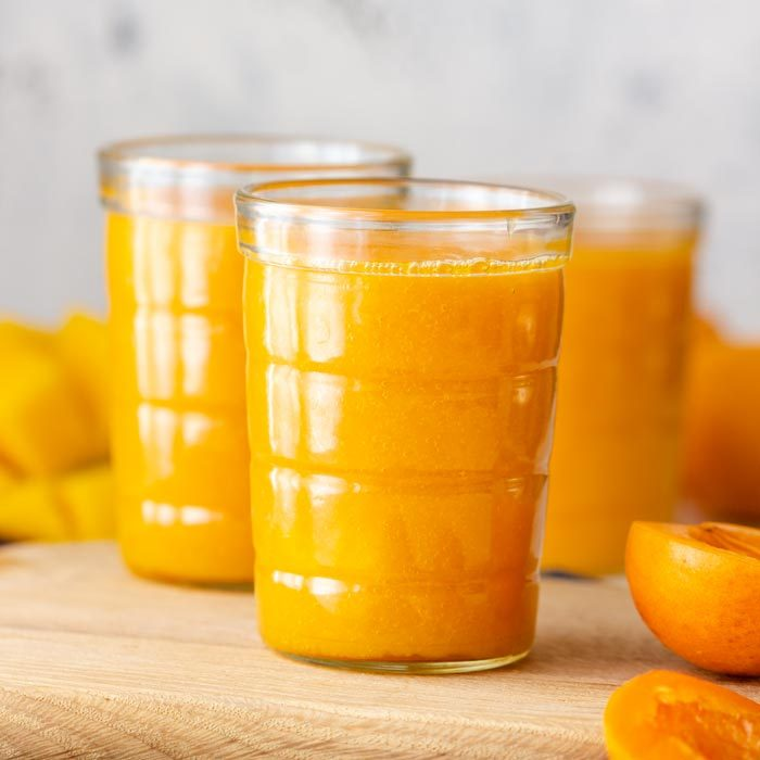 Healthy Apricot Mango Smoothie