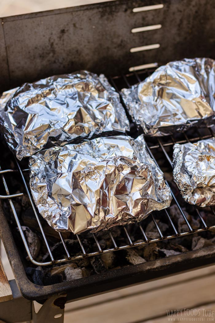 Campfire Potatoes in Foil on the Grill