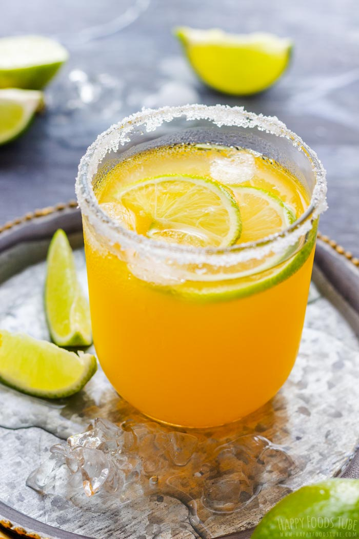 Classic Orange Margarita Cocktail