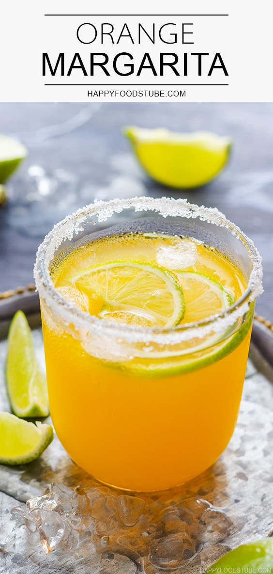 Classic Orange Margarita Recipe