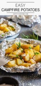 Easy Campfire Potatoes Recipe