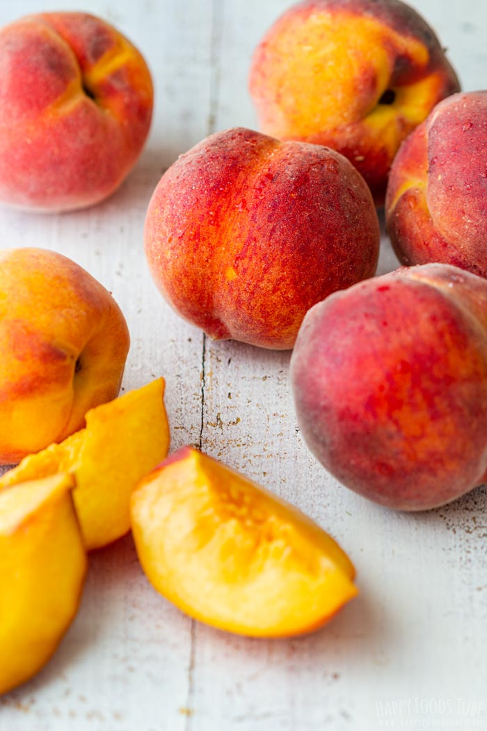Fresh Peaches for Jam Making