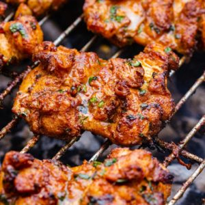 Best Grilled Boneless Chicken Thighs