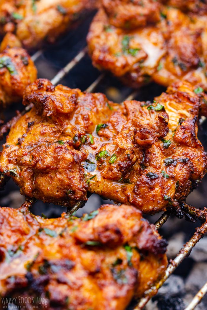 Juicy and Tender Grilled Boneless Chicken Thighs