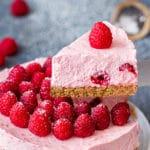 No Bake Raspberry Cheesecake Recipe