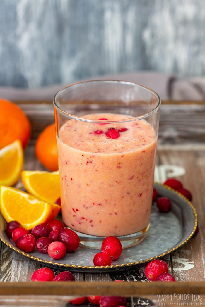 Orange Cranberry Smoothie