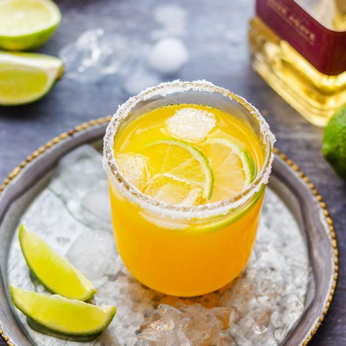 Orange Margarita with Ice
