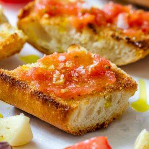 Pan con Tomate Spanish Breakfast