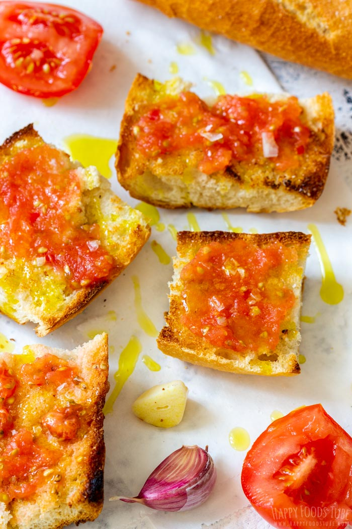 Spanish Garlic Tomato Toast