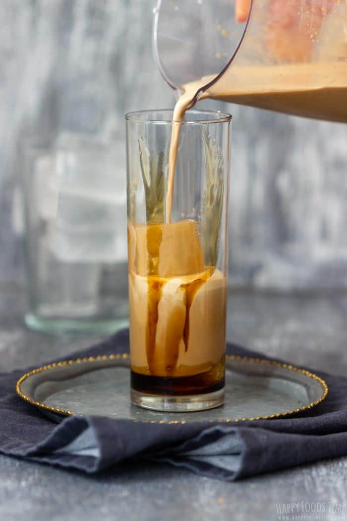 Step by Step How to Make Iced Caramel Latte 2
