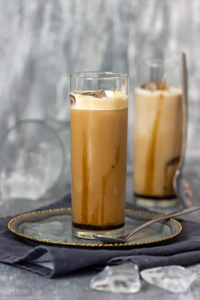 Step by Step How to Make Iced Caramel Latte 3