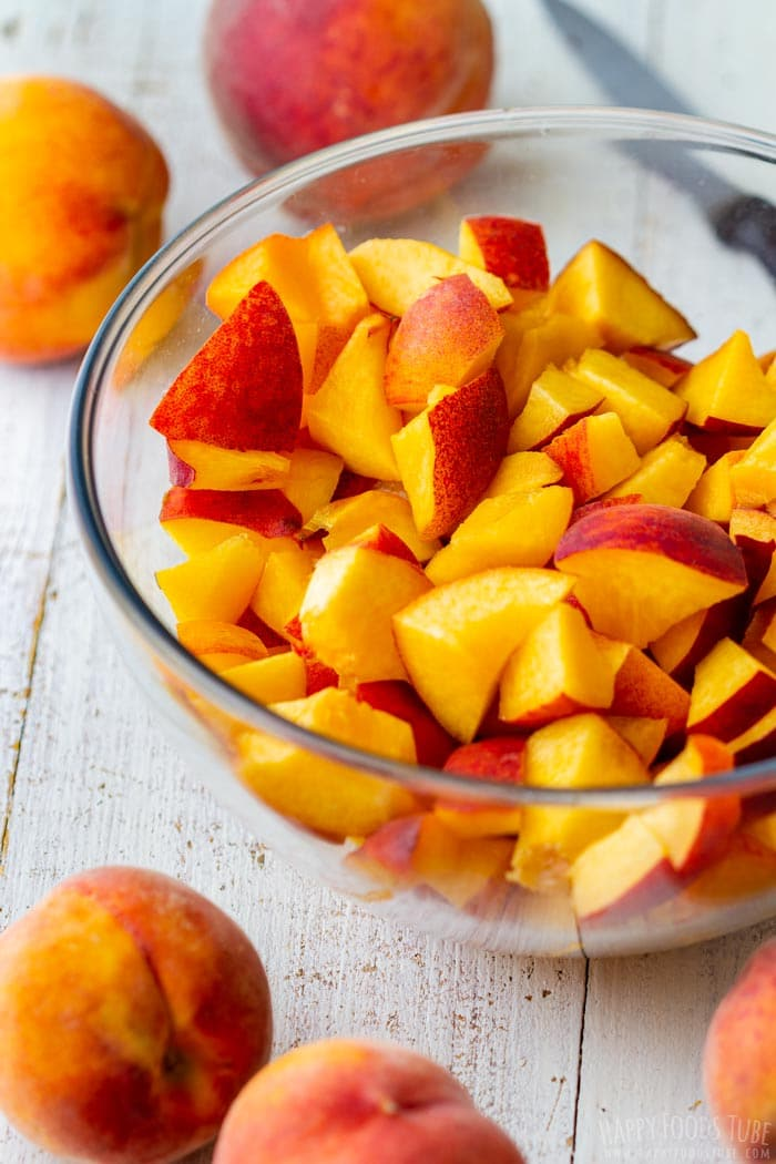 Step by Step How to Make Instant Pot Peach Jam 1