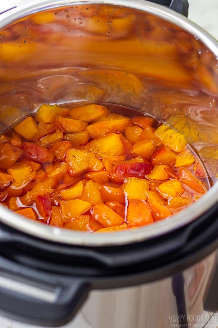 Step by Step How to Make Instant Pot Peach Jam 2