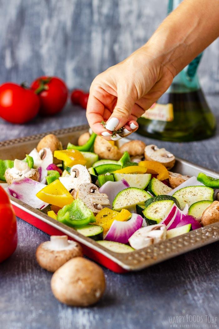 Steps How to Make Mediterranean Grilled Vegetables 1
