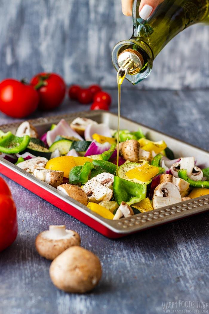 Steps How to Make Mediterranean Grilled Vegetables 2