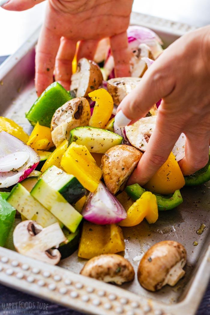Steps How to Make Mediterranean Grilled Vegetables 3