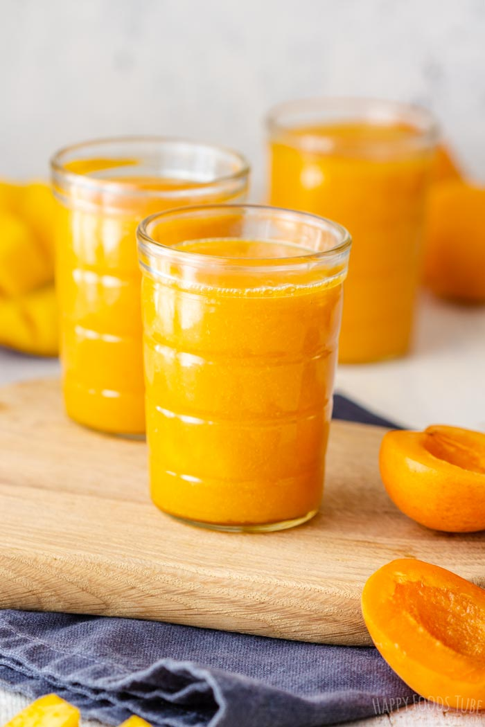 Vegan Apricot Mango Smoothie
