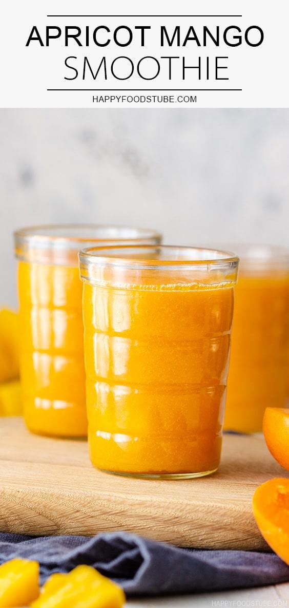 Vegan Apricot Mango Smoothie Recipe