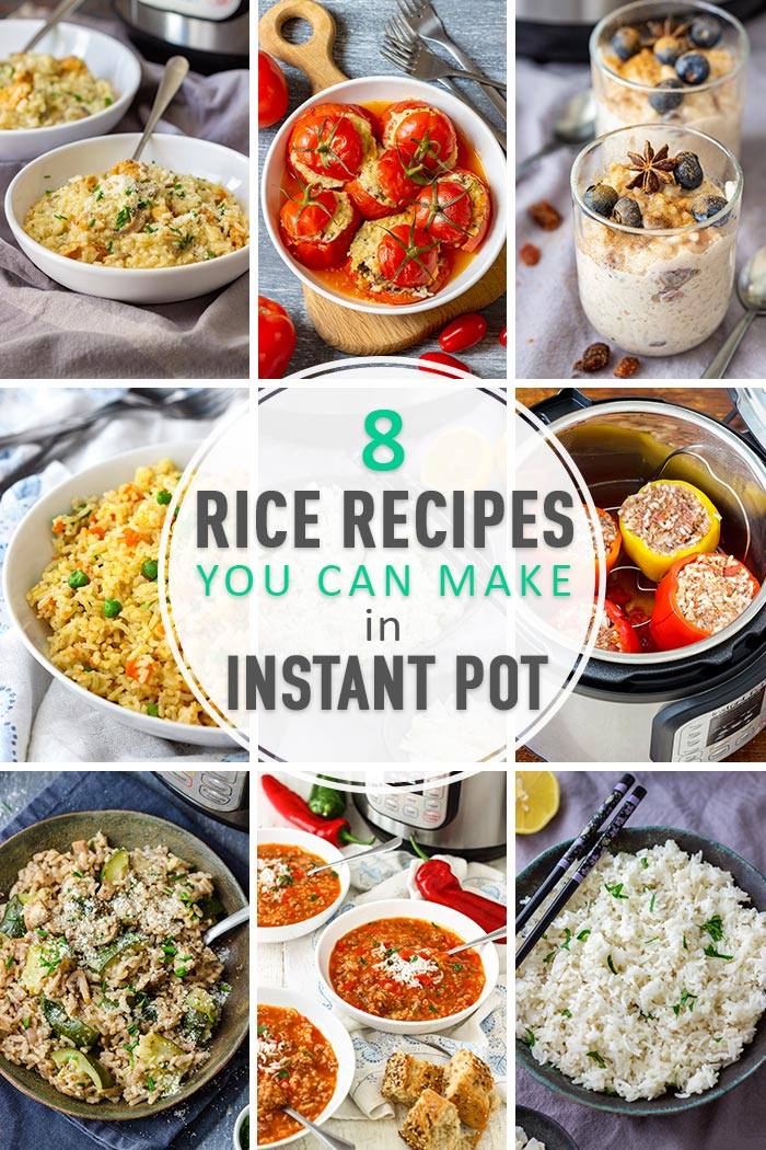 8 Rice Recipes You Can Make in Instant Pot