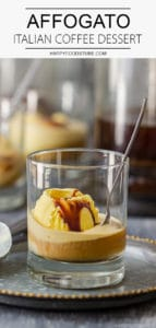 Affogato Italian Coffee Dessert Recipe