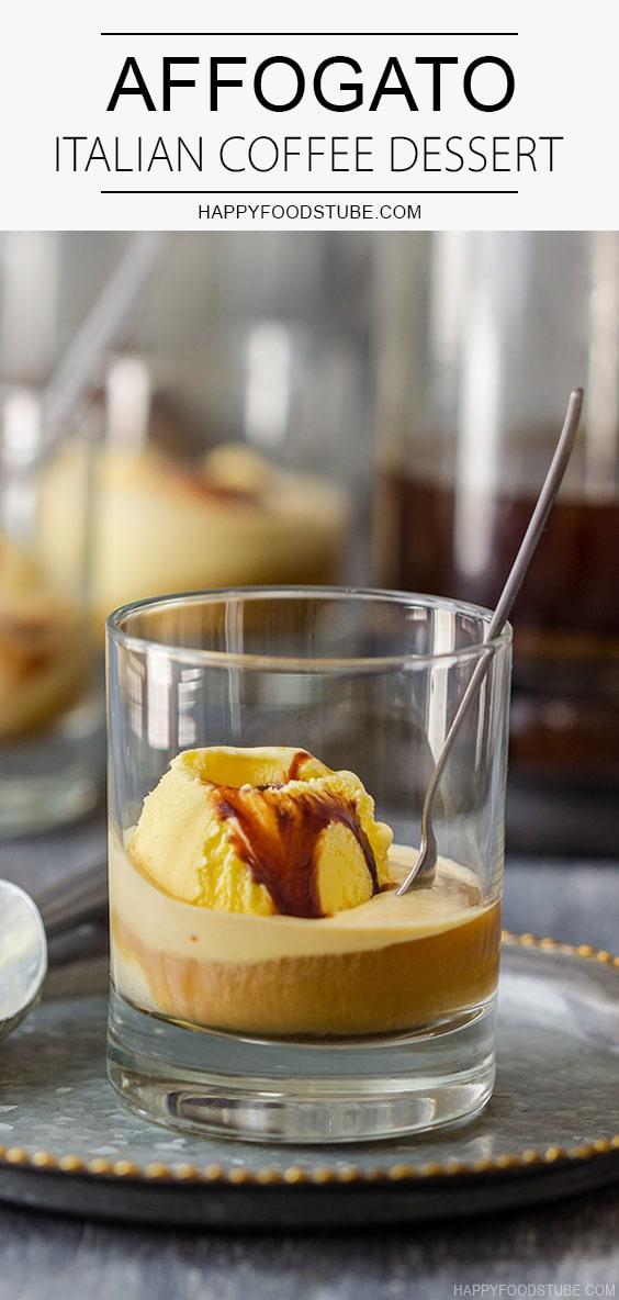 Affogato Italian Coffee Dessert Recipe