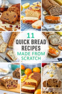 Best Quick Bread Recipes Made from Scratch