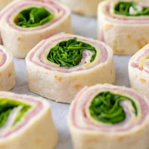 Easy to make Ham and Cheese Pinwheels
