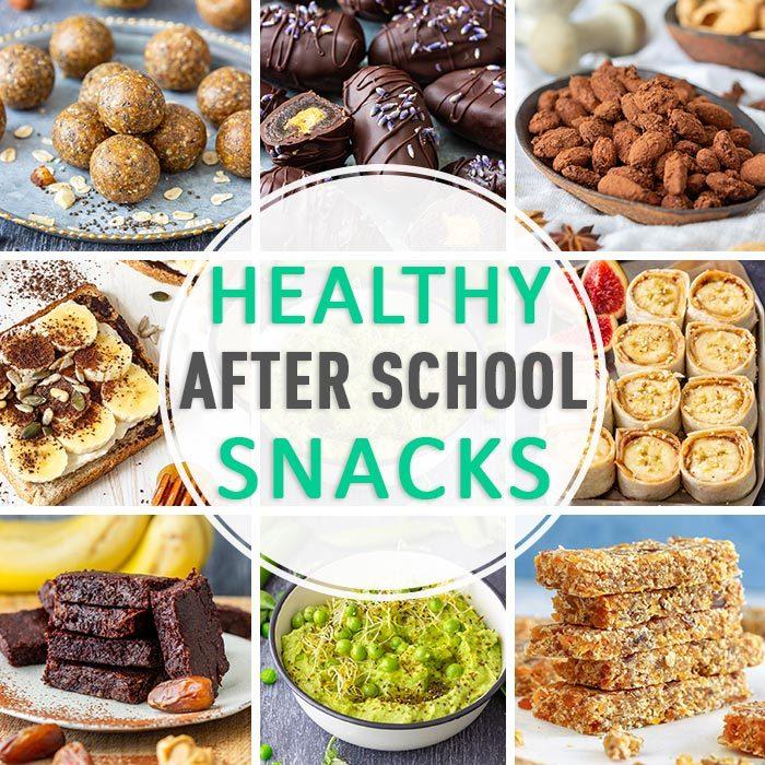 Easy Healthy After School Snacks