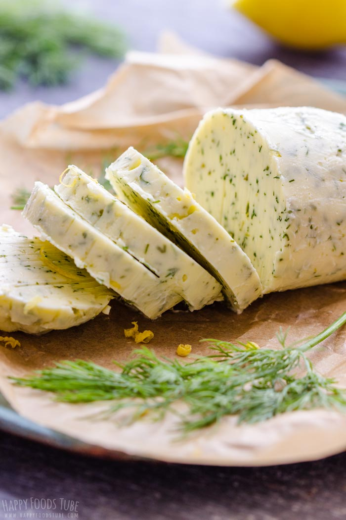 Homemade Lemon Dill Compound Butter