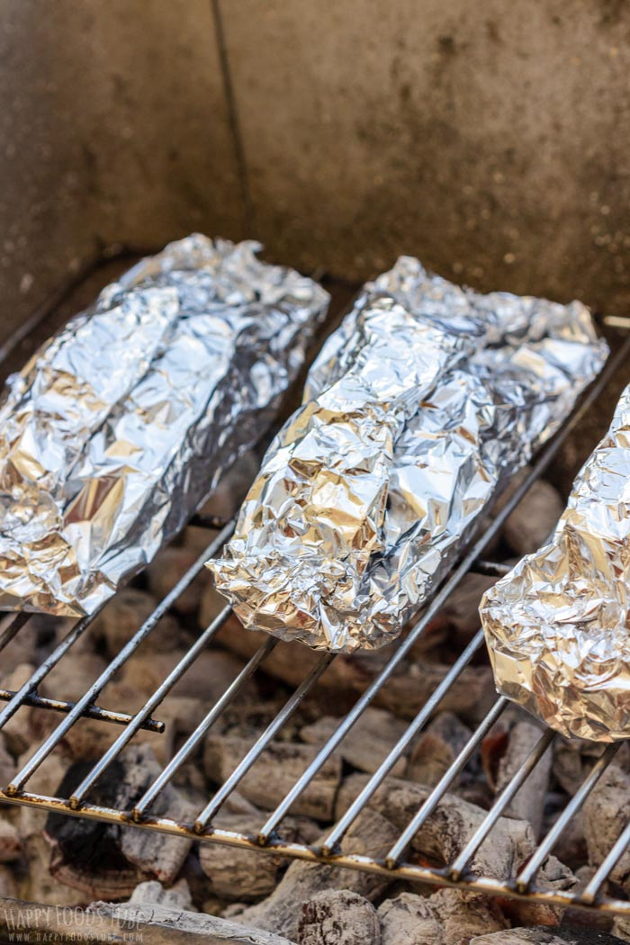 How to make Grilled Salmon Foil Packets Step 2