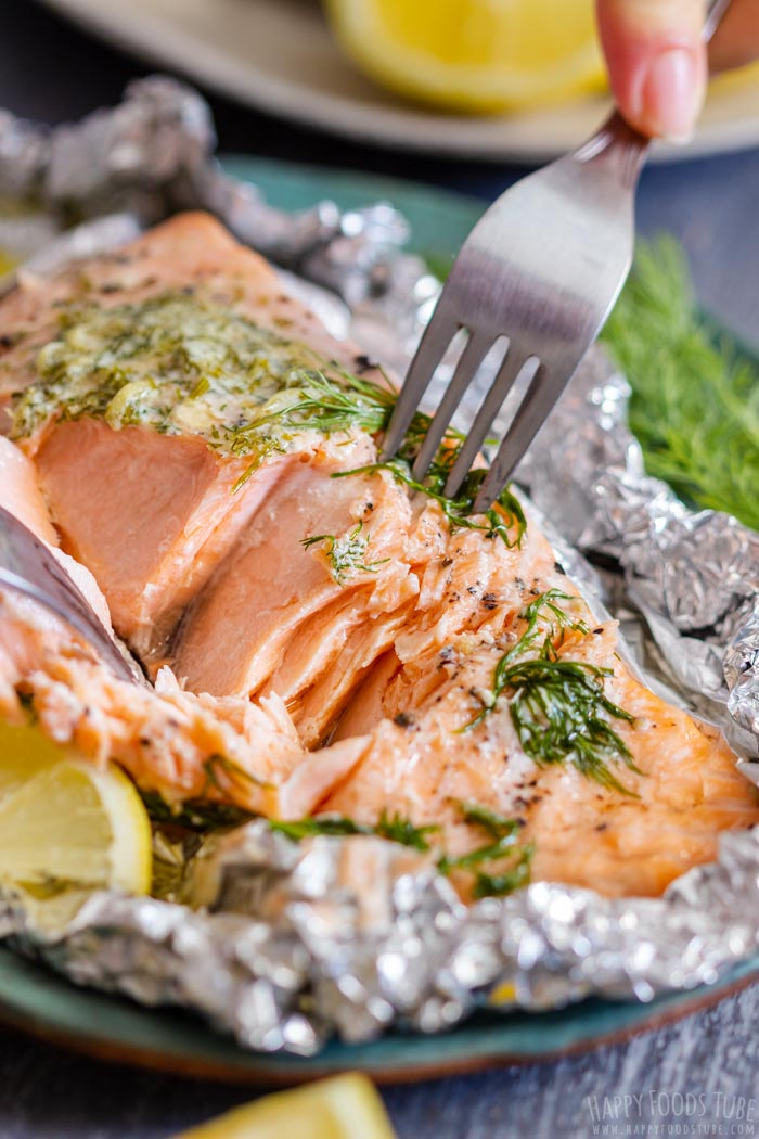 Moist and Flaky Grilled Salmon Foil Packets
