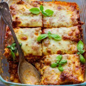 Homemade Zucchini Lasagna