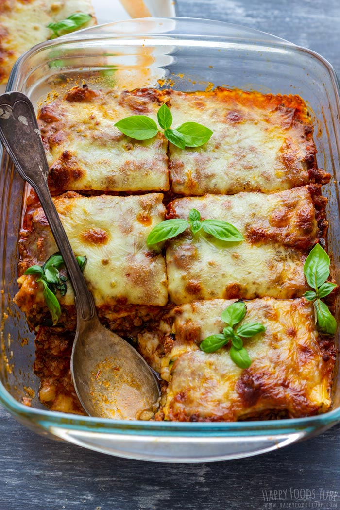 lasagna zucchini recipe easy only naturally gluten baking takes minutes