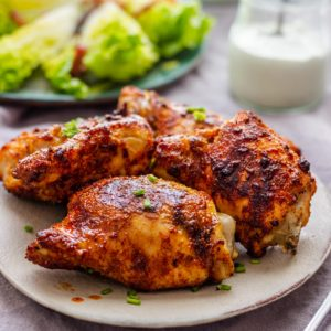 Best Air Fryer Chicken Thighs