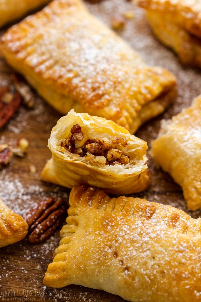 Homemade Air Fryer Maple Pecan Hand Pies