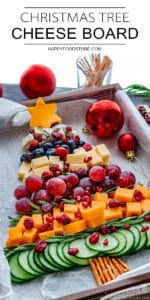 Best Christmas Tree Cheese Board
