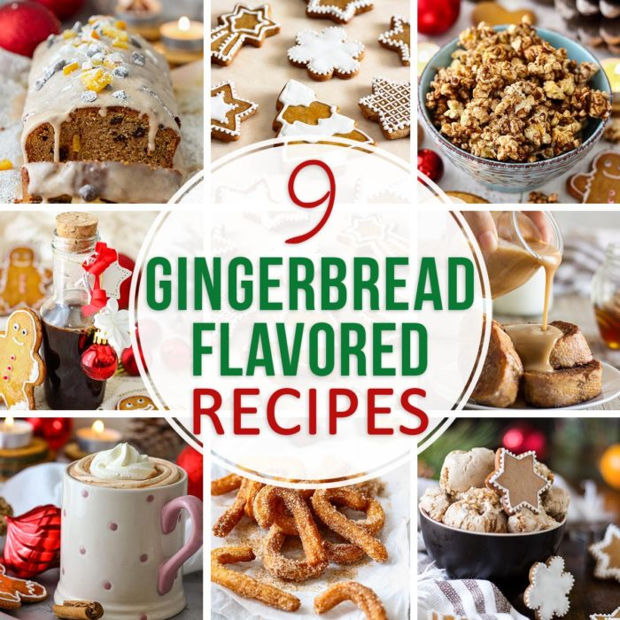 9 Gingerbread Flavored Recipes