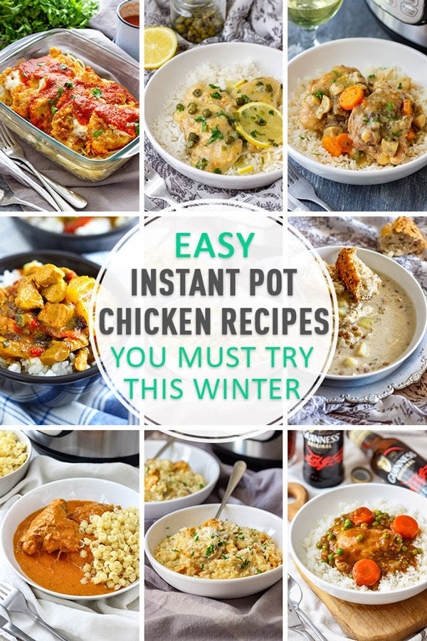 Best Instant Pot Pressure Cooker Chicken Recipes