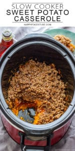 Crock Pot Slow Cooker Sweet Potato Casserole