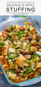 Easy Homemade Sausage and Apple Stuffing