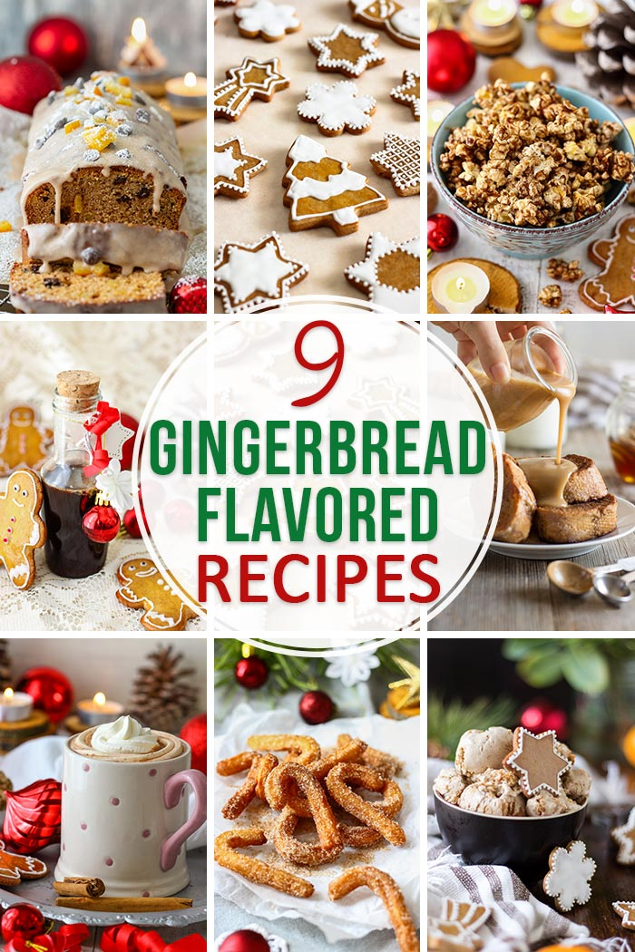 Gingerbread Flavored Recipes