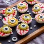 Halloween Eyeball Deviled Eggs Recipe