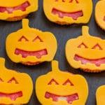 Halloween Pumpkin Ritz Cracker Snacks