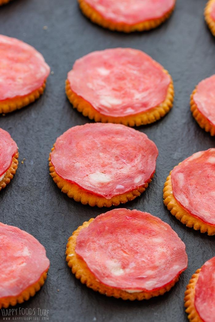 How to make Halloween Ritz Cracker Snacks Step 3