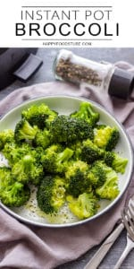 Instant Pot Pressure Cooker Broccoli