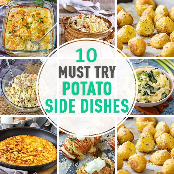 10 Must Try Potato Side Dishes