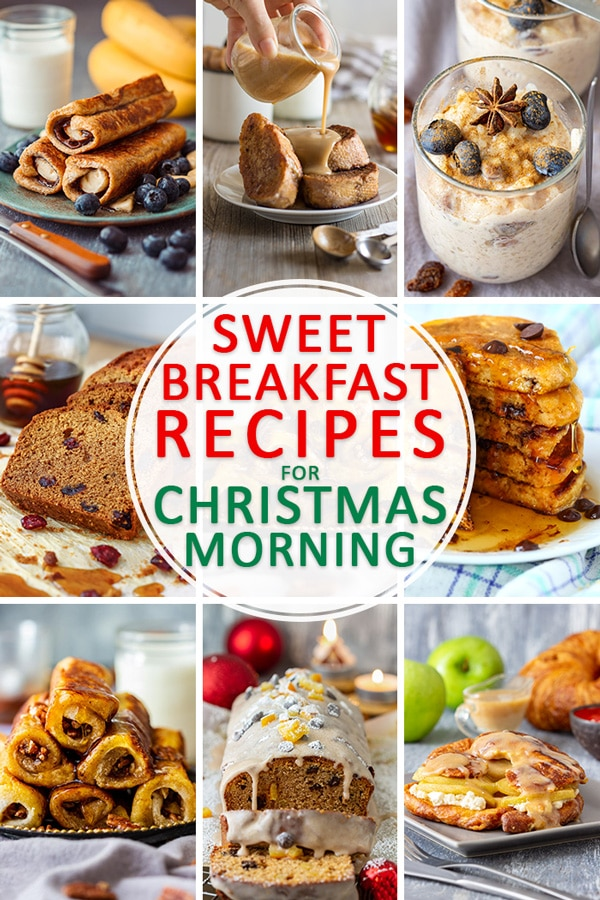 Best Sweet Breakfast Recipes for Christmas Morning