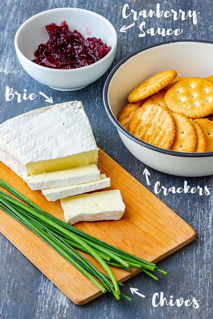 Cranberry Brie Bites Ingredients